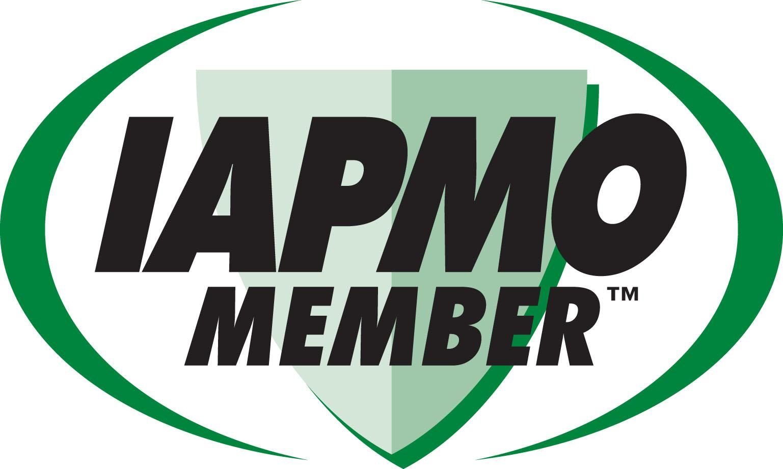 Logo for being an IAPMO Member