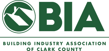 Logo for the Building Industry Association of Clark County